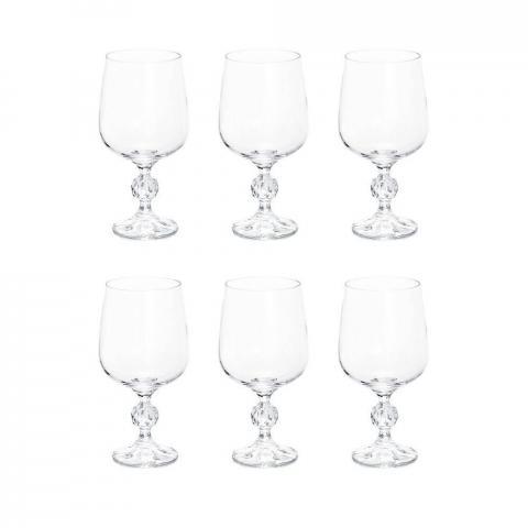 Taça Para Vinho Tinto ou Branco 340 ML Klaudie - 4S149-340