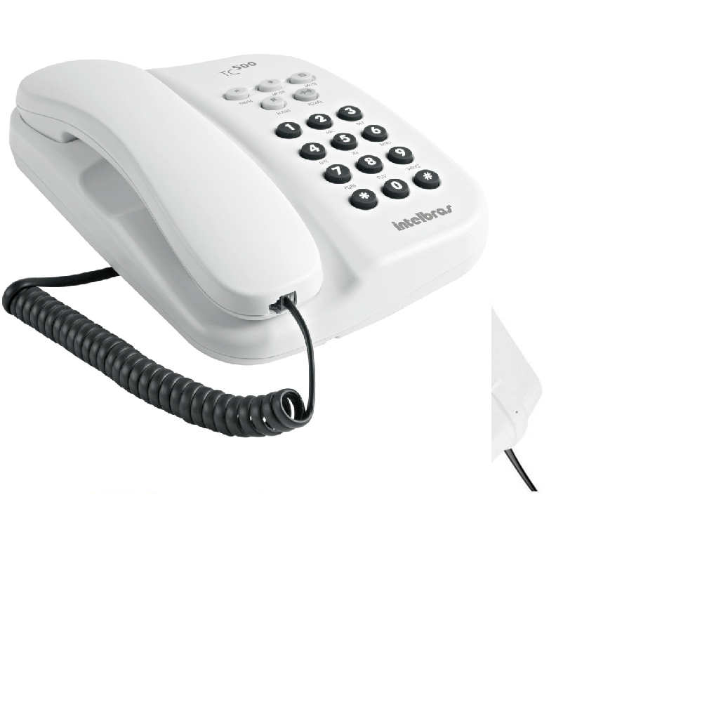 Telefone Com Fio Intelbras - Tc500