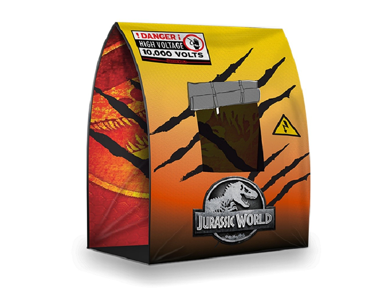 Tenda Jurassic World Core Com Janela - 7001