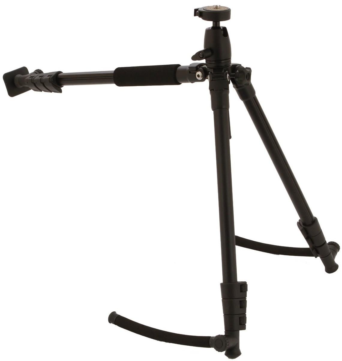 Tripé 2 Em 1 Vivitar De Ombro Para Câmeras E Filmadoras Original - Vivvpt450