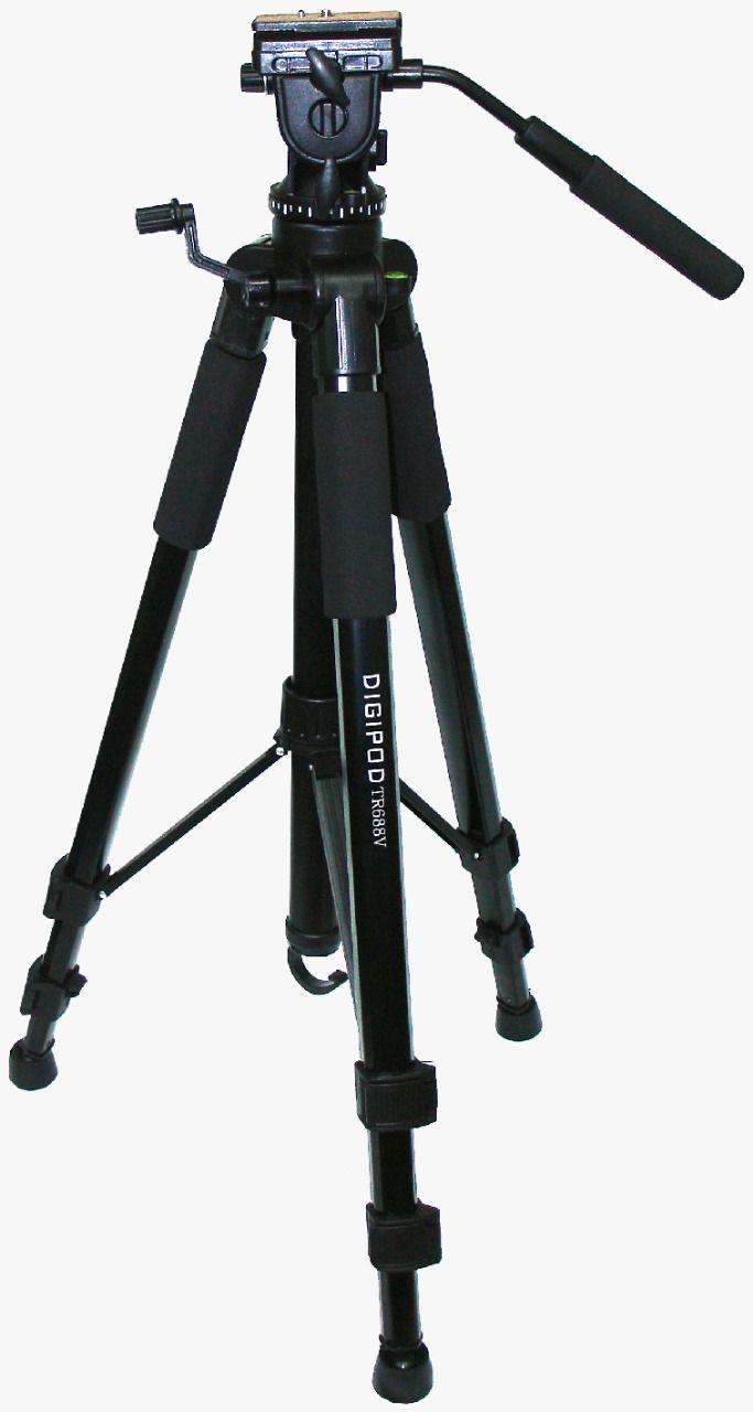 Tripé DIGIPOD Para Câmeras Fotograficas E Filmadoras  - TR-688