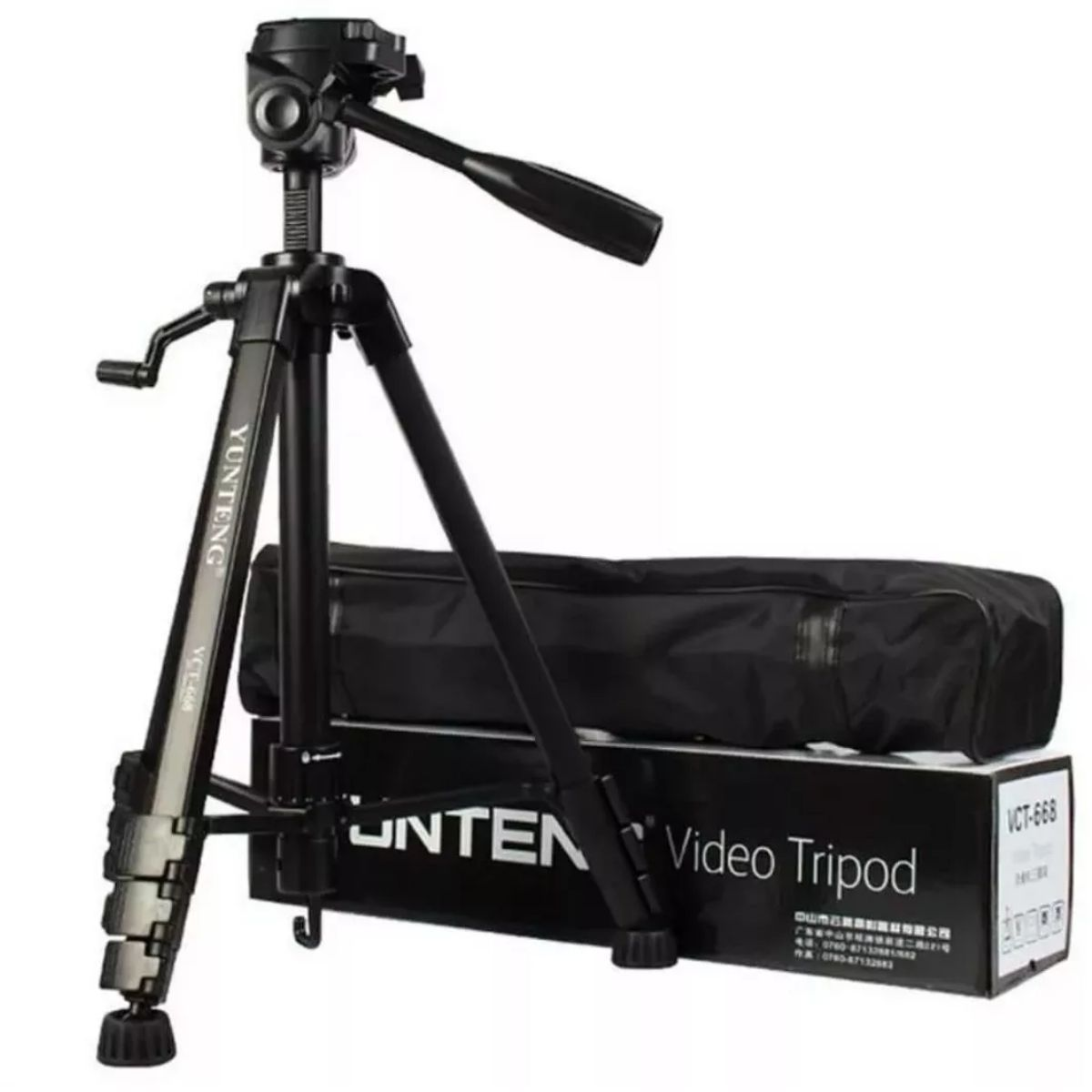 Tripé Fotográfico Profissional Para Foto E Filmagem Yunteng VCT 690