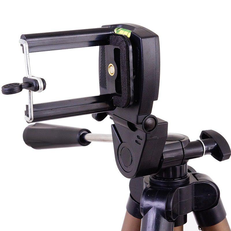Tripe Greika Weifeng Para Câmera Fotográfica E Filmadora 1,25m - Suporta 2Kg - WT-3130