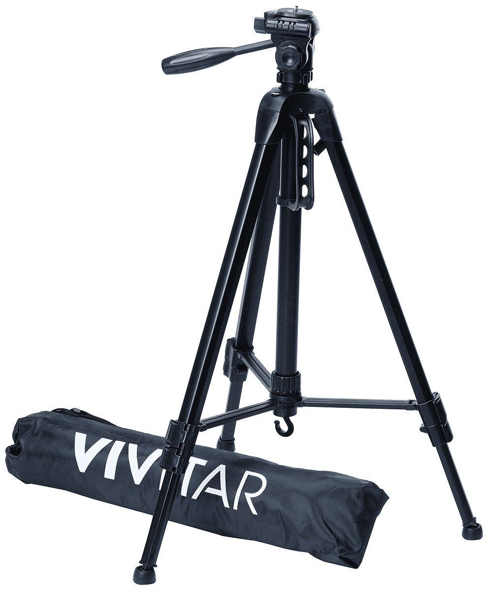 Tripé Profissional em 3 Seções Extensão Até 1,70m Vivitar - VIVVPT4867
