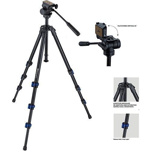 Tripé Para Câmeras Fotograficas E Filmadoras  - WF-5316