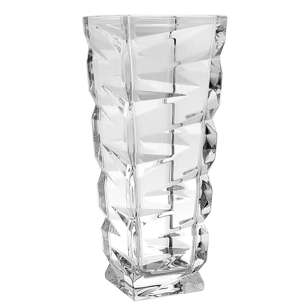 Vaso Zig Zag Cristal 31,5 CM Bohemia - 83715-330