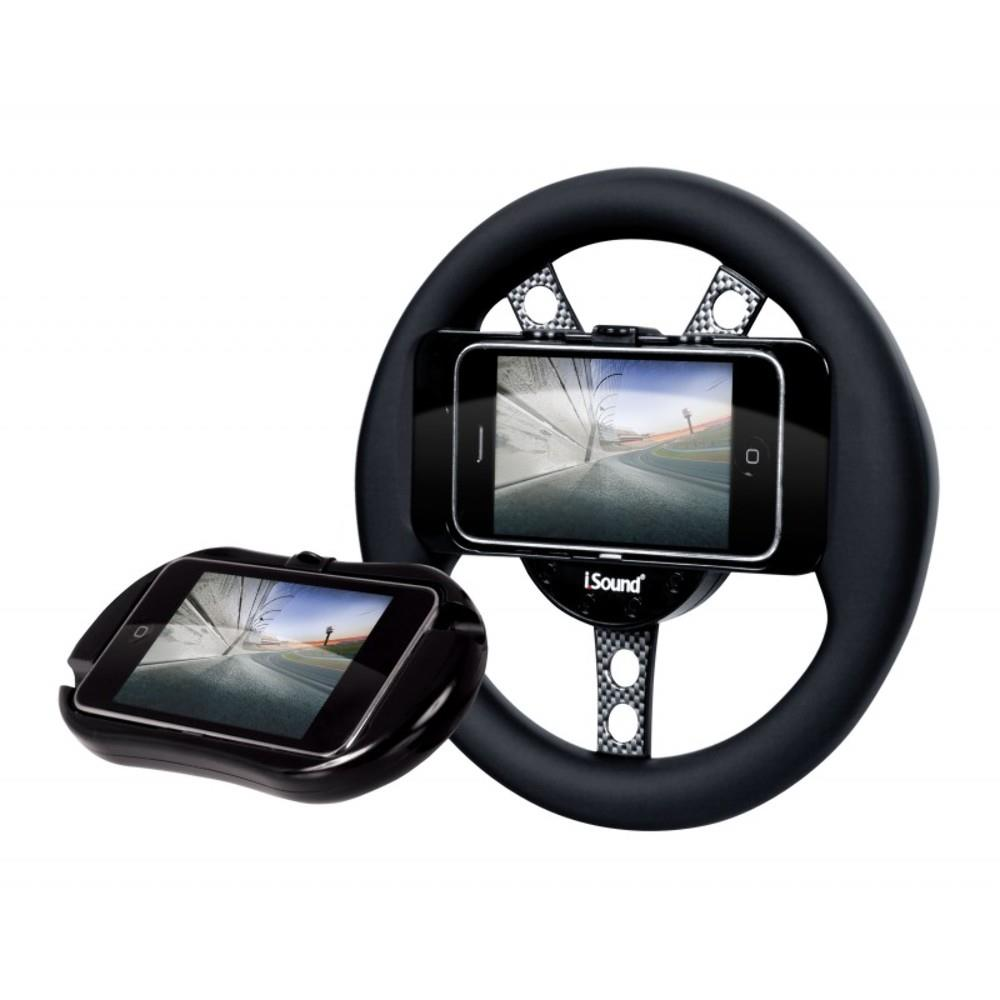 Volante Isound E Estojo Para Jogos De Corrida Para iPhone Ou iPod Touch - DGIPOD1558