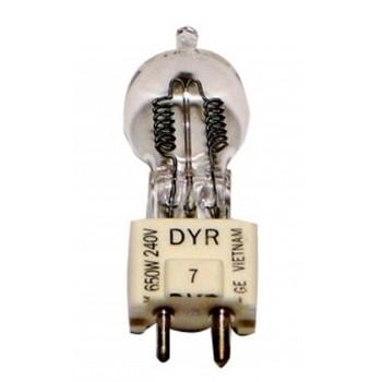 Cod.DYR - Lâmpada DYR 230V 650W  - lampadas.net