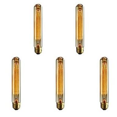 Cod.INCT30 Lâmpada Decorativa Filamento Carbono T30 E-27 40W (pack com 5 unidades)  - lampadas.net