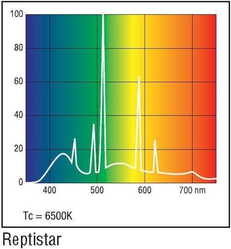 Cod.Reptistar Lâmpada para Repteis Repitstar 6500K  - lampadas.net