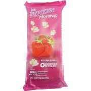 Pipoca Doce Popcorn - Tradicional de Panela - sabor Morango
