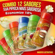 Tempero de pipoca Popcorn - Combo nº14 - 12 Sabores