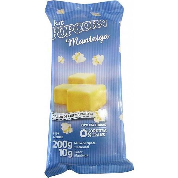 Mix Pipoca Salgada - sabor Manteiga