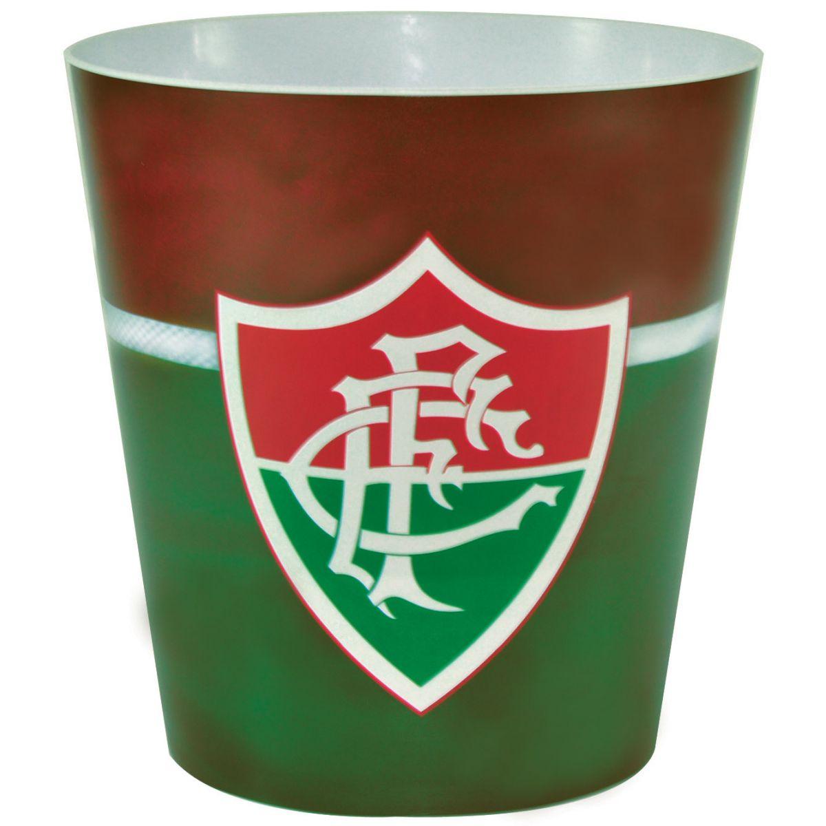 Balde p/ pipoca do Fluminense + 3 pipocas de micro-ondas