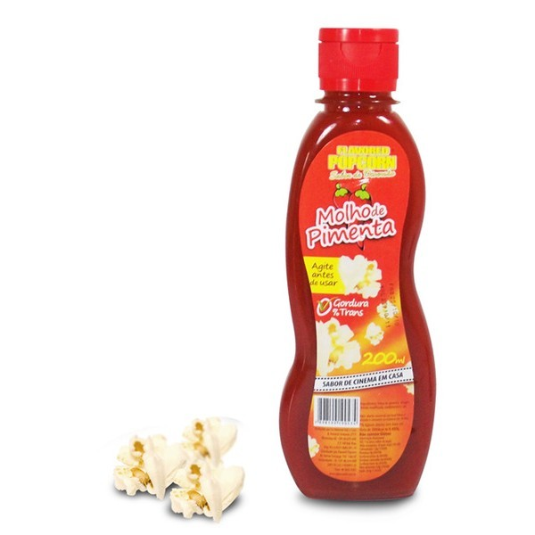 PIMENTA POPCORN - HOT CHILLY