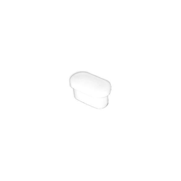 Ponteira 30 x 16 mm Interna Oblonga Branca c/ 500 unidades  - Emar - Loja Virtual