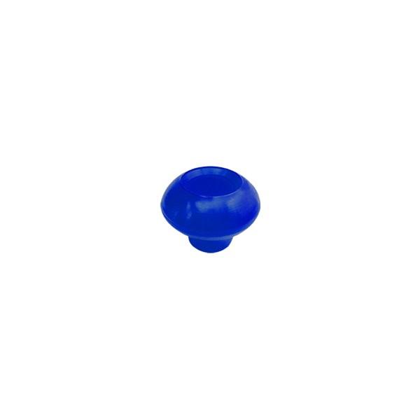 """Porca Manípulo 5/16"""" - Esférica Azul  - Emar - Loja Virtual"""