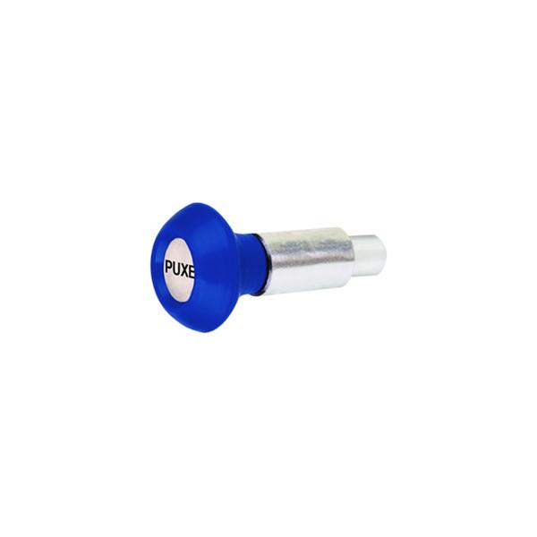 Puxador 1 Corpo - Modelo 1 c/ Esférico Azul  - Emar - Loja Virtual