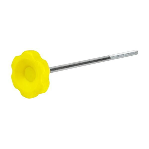 """Parafuso Manípulo 3/8"""" x 270 mm - Rosetão Amarelo  - Emar - Loja Virtual"""