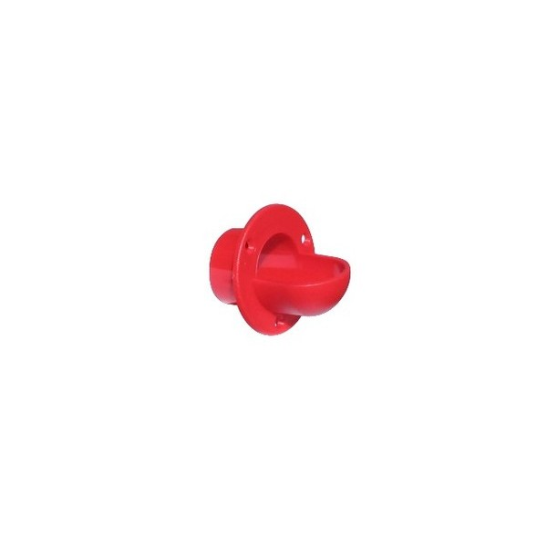 Lança Bolas Pebolim Vermelho - Cachimbo  - Emar - Loja Virtual