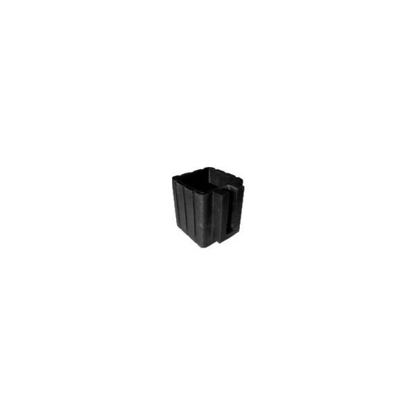 Ponteira 30 x 30 mm Externa PVC Super Fina c/ Calço  - Emar - Loja Virtual