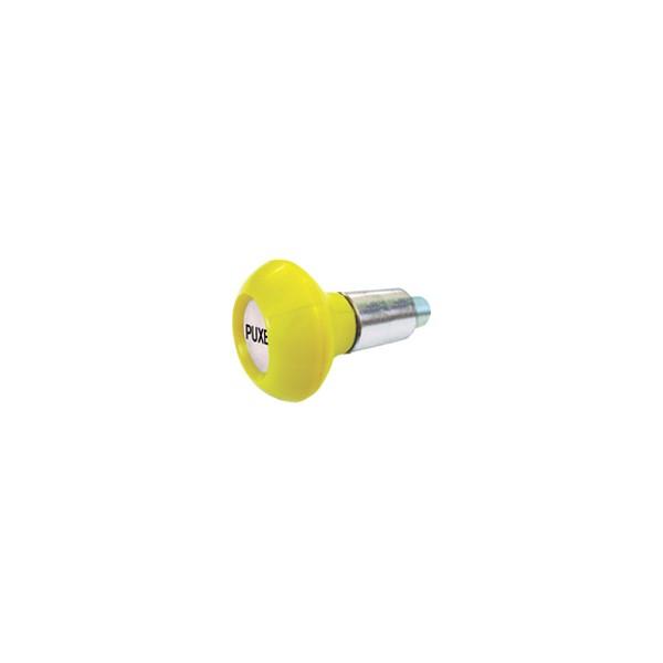 Puxador 1 Corpo - Modelo 2 c/ Esférico Amarelo  - Emar - Loja Virtual