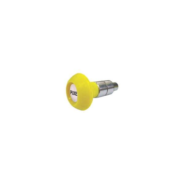 Puxador 2 Corpos - Modelo 2 c/ Esférico Amarelo  - Emar - Loja Virtual