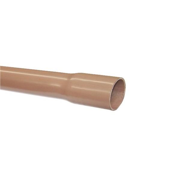 Tubos em PVC Marrom Soldável p/ Água Fria - 6 mts  - Emar - Loja Virtual