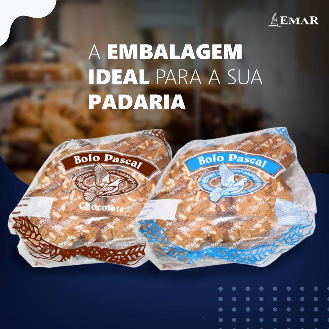 Sacos Bolo Pascal de Chocolate c/ 100 unidades  - Loja Virtual do Grupo Emar