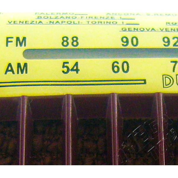 Rádio Vintage Ducati RR 1350 de 1953 AM/FM Colecionável
