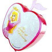 100 Mini Adesivos + Porta Adesivos Bela Adormecida Princesas Disney