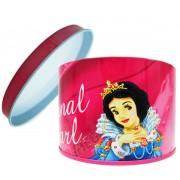 Caixa  Lata de Metal Branca de Neve Princesas Disney