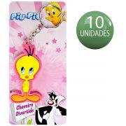 10 Chaveiros Divertidos Piu Piu Looney Tunes Warner Bros lembrancinha Festa