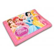 Carteira Infantil Princesas Disney