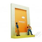 Porta Retrato Resina Admiradores 10x15cm