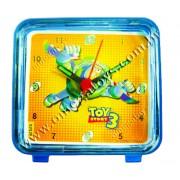 Mini Relógio Despertador Buzz Toy Story Disney