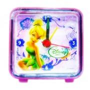 Mini Relógio Despertador Tinker Bell Fadas Disney