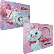 2 Quebra Cabeças Cartonados Gata Marie Disney 126 Peças