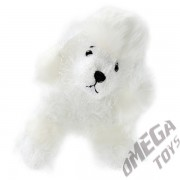 Pelúcia Cachorro Poodle Branco My Plush