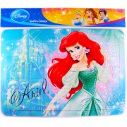 Quebra Cabeça Cartonado de 63 Peças Sereia Ariel Princesas Disney
