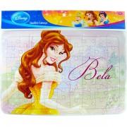 Quebra Cabeça Cartonado de 63 Peças A Bela e a Fera Princesas Disney