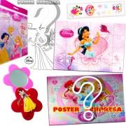 Sacolinha Divertida  Jasmine com Espelho Princesas Disney
