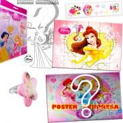 Sacolinha Divertida  Bela com Anel Princesas Disney