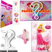 Sacolinha Divertida  Aurora com Anel Princesas Disney