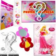 Sacolinha Divertida com Espelho Aurora Princesas Disney