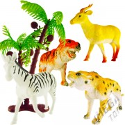Kit com Bichinhos Série Animais Selvagens