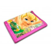 Carteira Infantil Tinker Bell Fadas Licenciada Disney