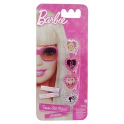 Kit com 4 Anéis Infantil Barbie - Zippy Toys