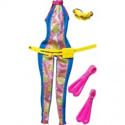 Roupinha e Acessórios Barbie Quero Ser Bióloga Marinha - Mattel