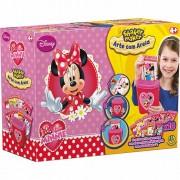 Shaker Maker Arte com Areia Minnie Disney - DTC